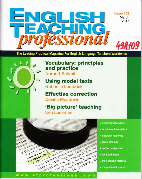 English Teaching professional March 2017