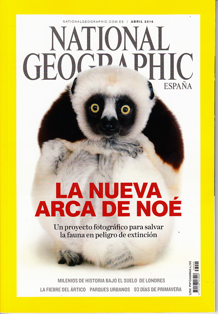 Revista National Geographic La nueva arca de Noé
