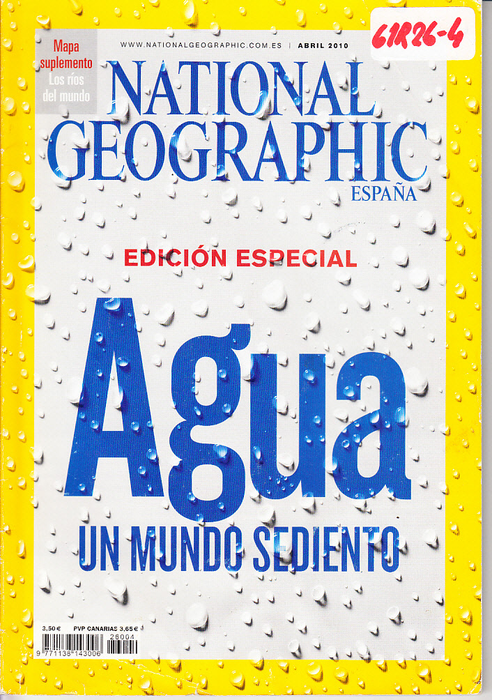 Revista National Geographic Agua