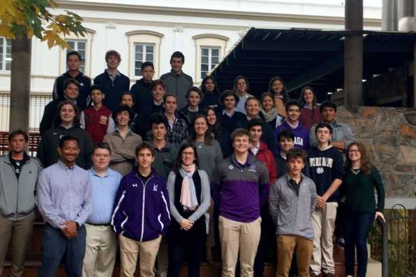 GONZAGA COLLEGE VISITS US